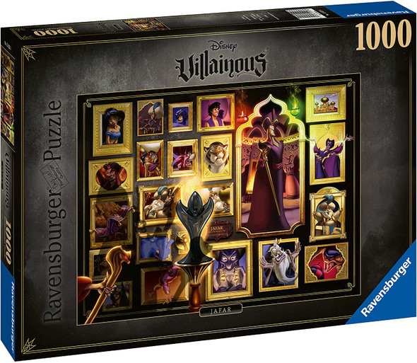 Disney's Villainous Jafar 1000 pc Puzzle