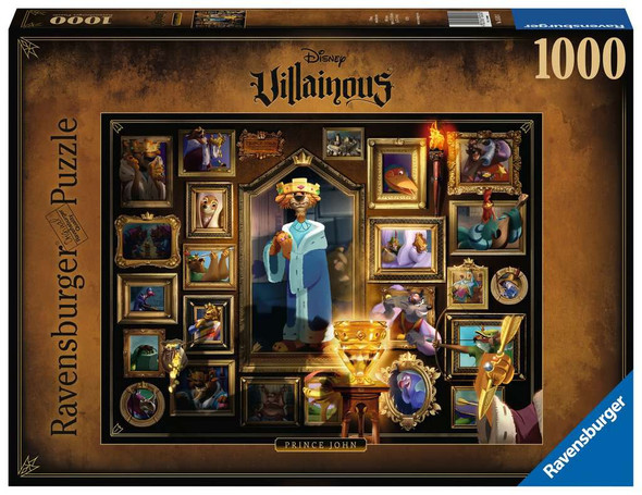 Disney's Villainous King John 1000 pc Puzzle