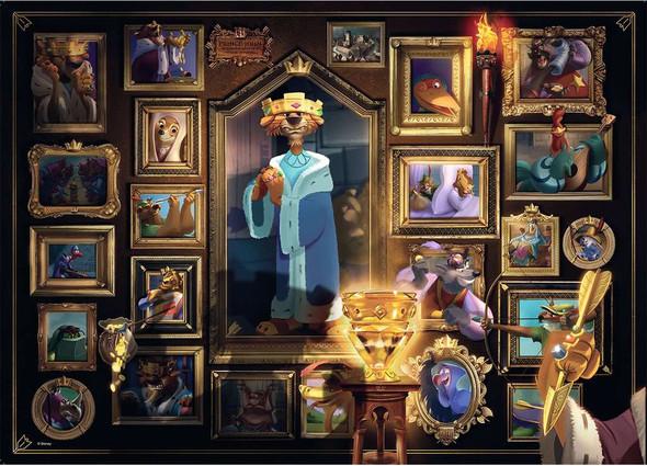 Disney's Villainous King John 1000 pc Puzzle