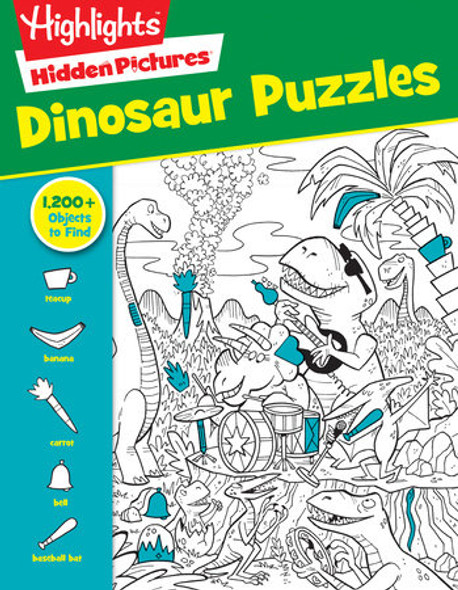 Dinosaurs Puzzle book by Highlights