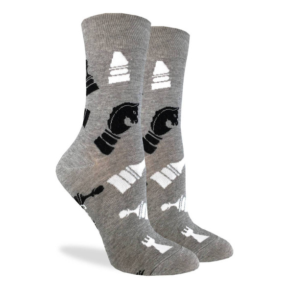 Chess Pieces socks by Good Luck Socks