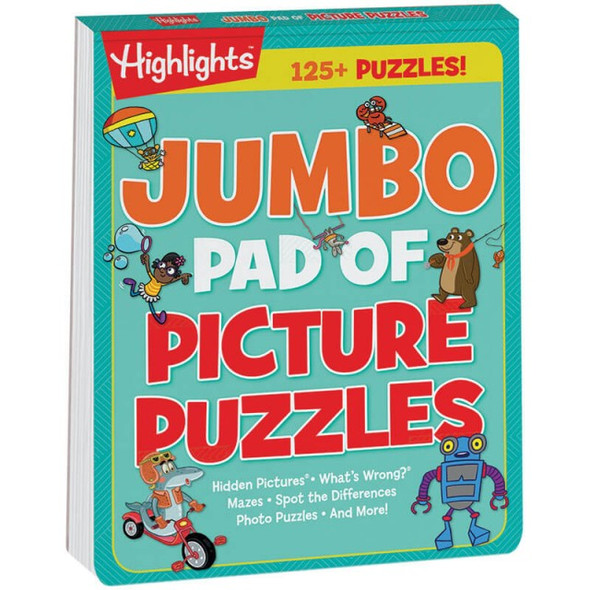 Jumbo Pad of Picture Puzzles by Highlights