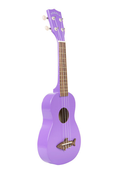 Kala Shark Soprano Ukulele - Sea Urchin Purple