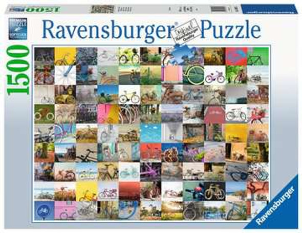 99 Bicycles Puzzle 1500pc