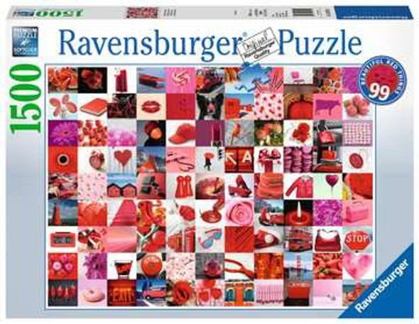 99 Beautiful Red Things 1500pc