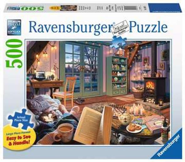 Ravensburger Cozy Retreat 500pc