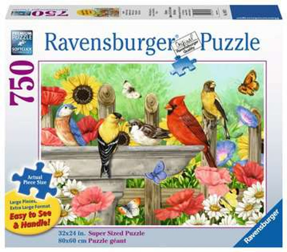 Bathing Birds 750pc Puzzle