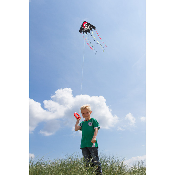 Jolly Roger Pirate delta kite