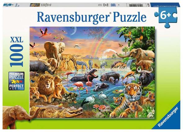 Savannah Watering Hole 100 pc XXL puzzle