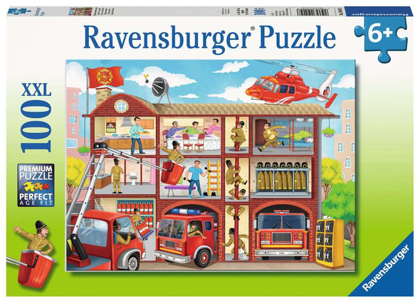 Firehouse Frenzy 100 pc XXL puzzle