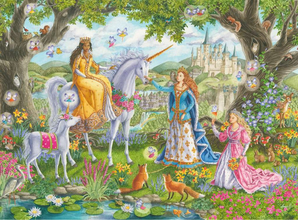 Princess Party 100 pc XXL puzzle