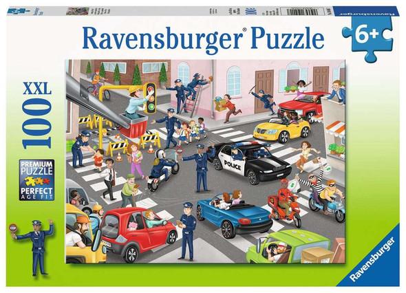 Police on Patrol 100 pc XXL puzzle
