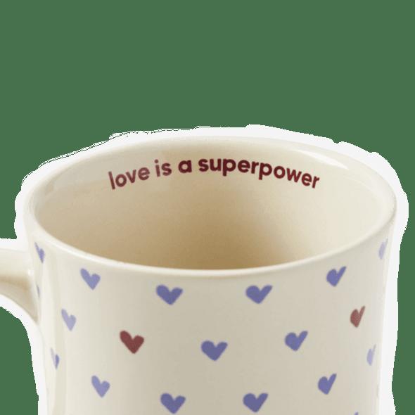 Love Is a Superpower Mug