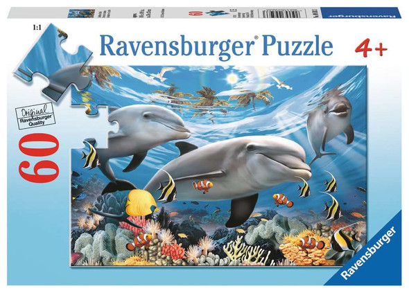 Caribbean Smile 60 pc puzzle by Ravensburger