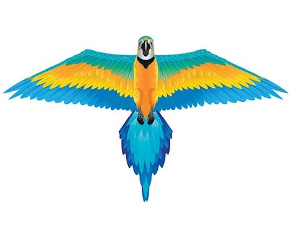 Rainforest Blue Macaw Kite