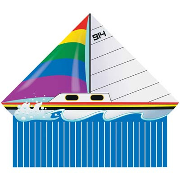 Sailboat Delta single line kite