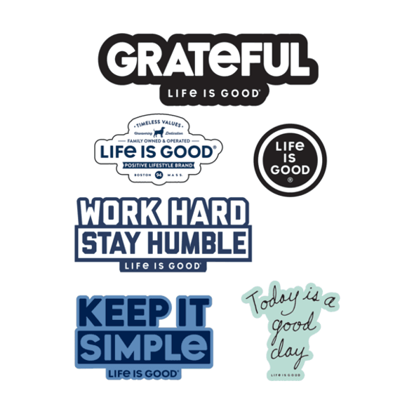 Positive Sticker Sheet- Life is Good