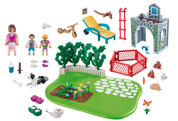 Family Garden Super Set- Playmobil