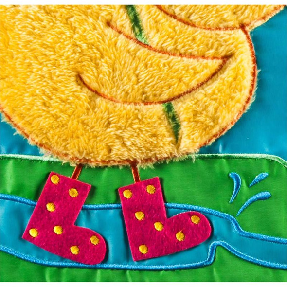 Singin' in the Rain Mini Garden Banner