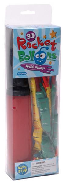Rocket Balloon set with pump