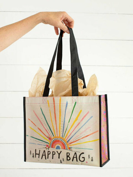 Large Sunrise Burst Happy Bag by Natural Life