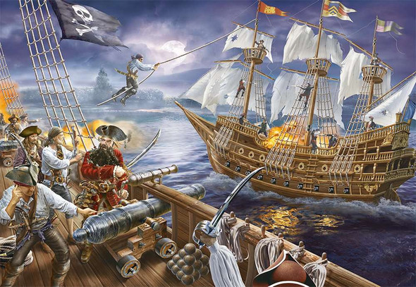 Blackbeard's Bazzle 200pc Puzzle