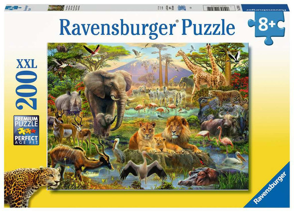 Animals of the Savannah 200pc Puzzle