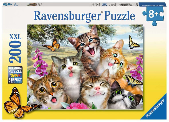 Friendly Felines 200pc Puzzle