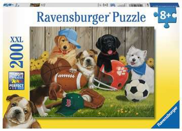 Let's Play Ball 200pc Puzzle