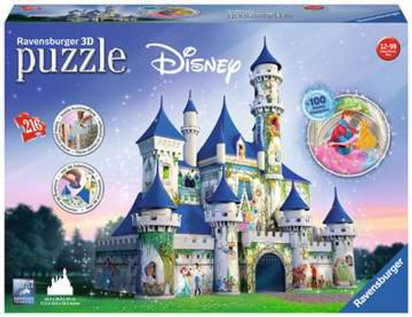 3D Disney Princess Castle Puzzle from Ravensburger