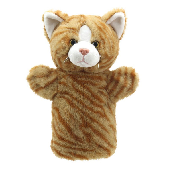 Ginger Cat Puppet Buddy