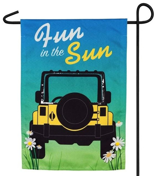 Fun in the Sun Garden Banner
