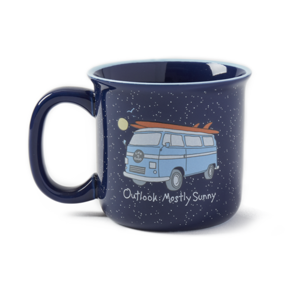 Mostly Sunny Van Mug by Life is Good