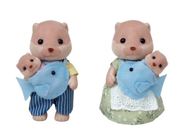 Splashy Otter Family- Calico Critters