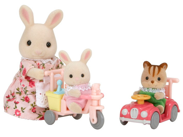 Calico Critters Apple and Jake Ride 'n Play
