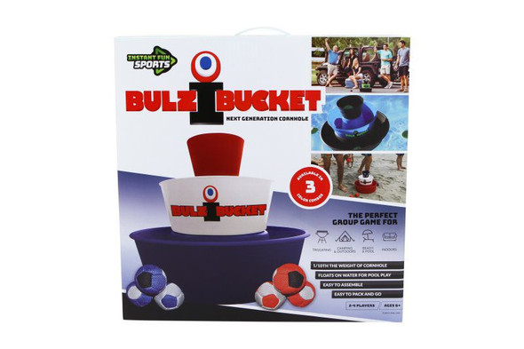 BulziBucket - Red, White & Blue