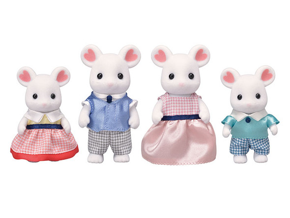 CC Marshmallow Mouse Family