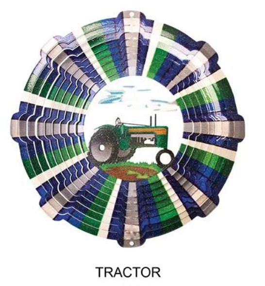Tractor stainless steel spinner