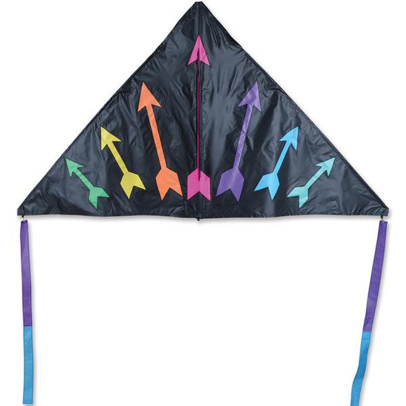 6.5' Rainbow Arrows delta kite