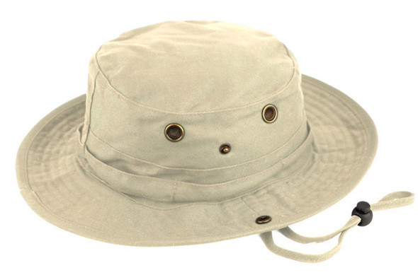 Safari Bucket Hat - Khaki