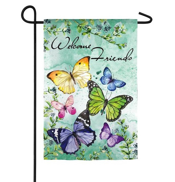 Butterfly Friends Garden Banner