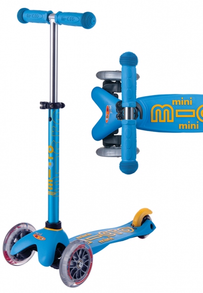 Mini Deluxe Scooter-Ice Blue