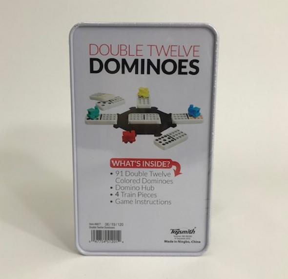 Double Twelve Dominos