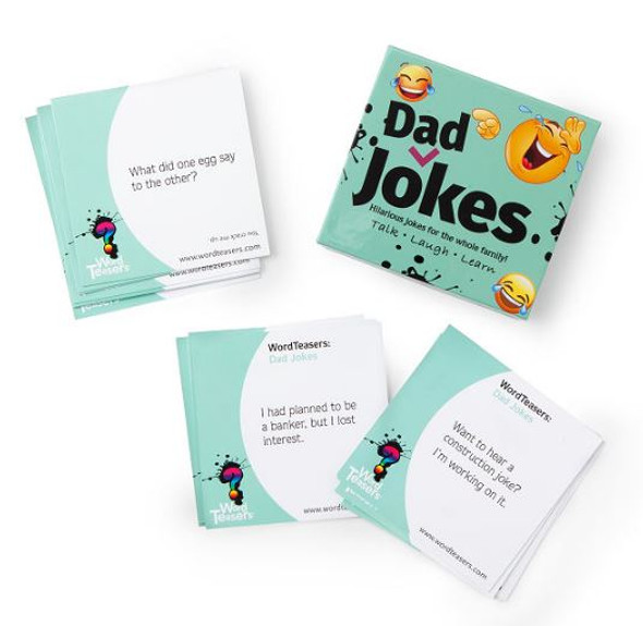 Dad Jokes box by Word Teasers