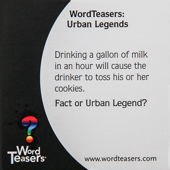 Urban Legends by Word Teasers