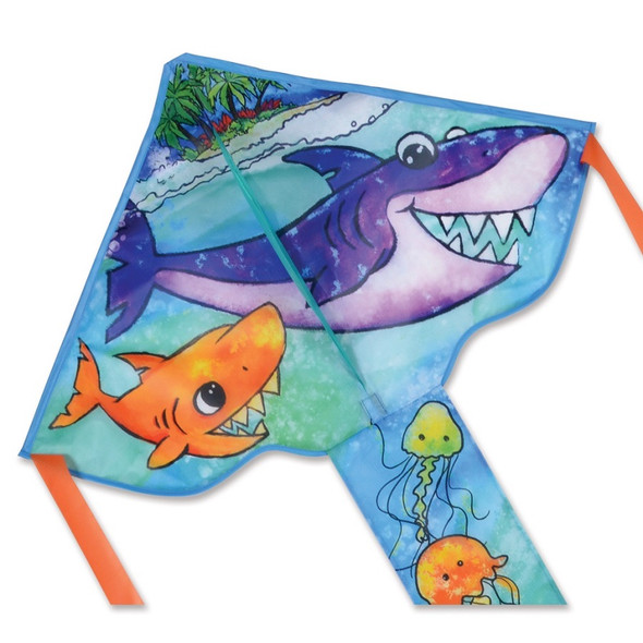 Shark Family Small Easy Flyer kite