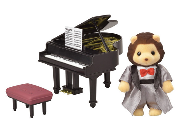 Calico Critters Grand Piano Concert Set