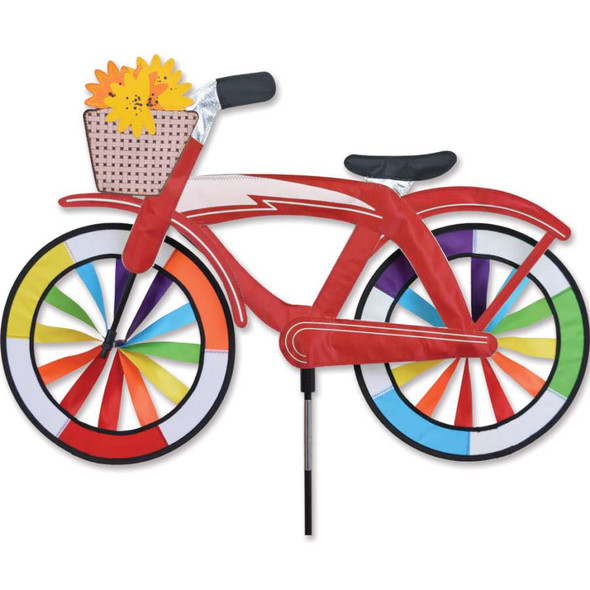 Red Bicycle Spinner 30""
