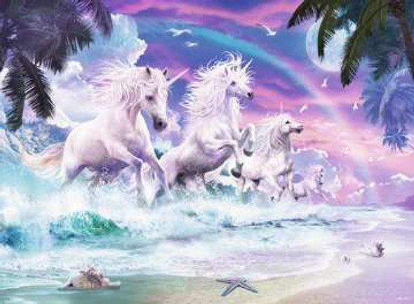 Unicorn Beach Puzzle 150 pc XXL
