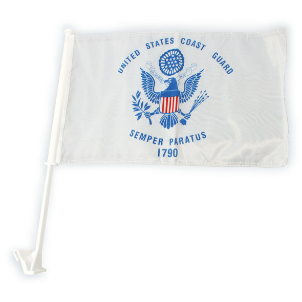 Coast Guard Car Flag